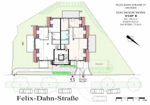 Felix-Dahn-Straße 53 - TOP 8 - DG - EB